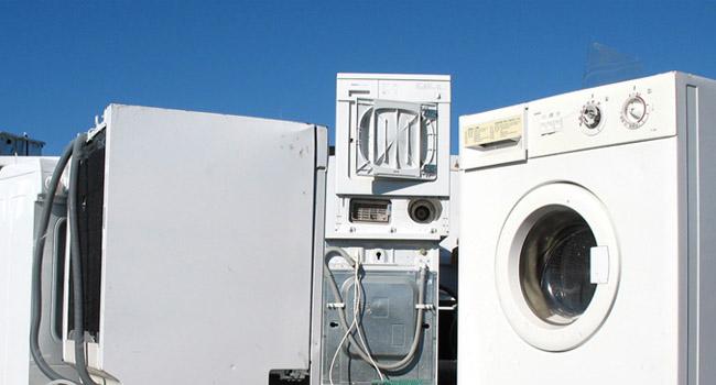 Odvoz gospodinjskih aparatov